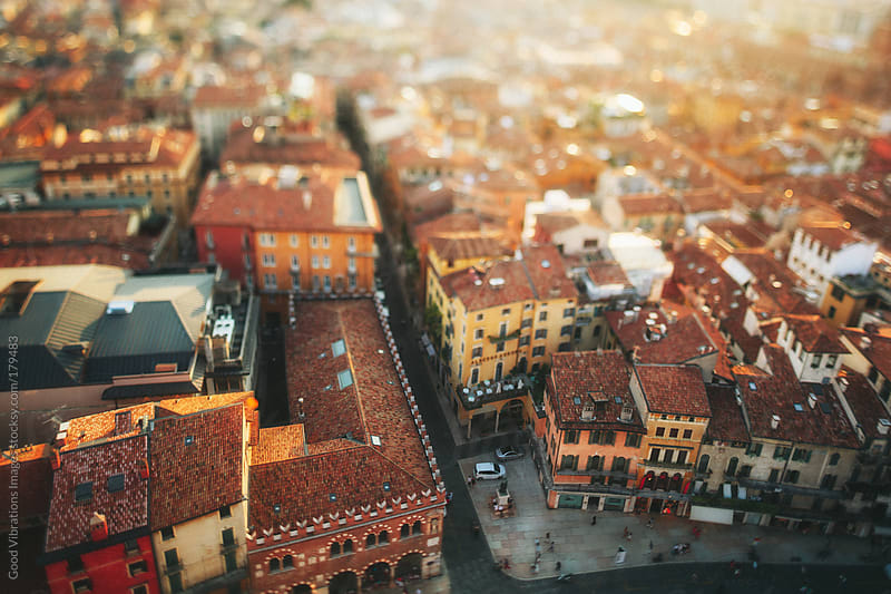 Italian City at Sunset by Good Vibrations Images for Stocksy United