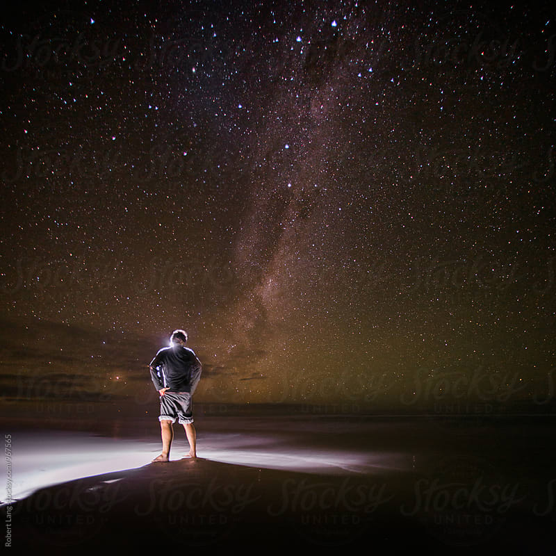 Milky Way Australia by Robert Lang for Stocksy United