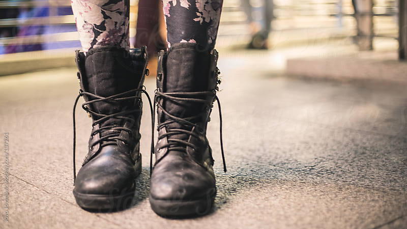 Retro leather boots. by Jovo Jovanovic for Stocksy United