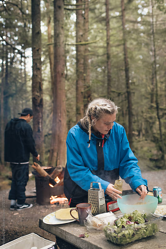 West Coast Camping  by Helene Cyr for Stocksy United