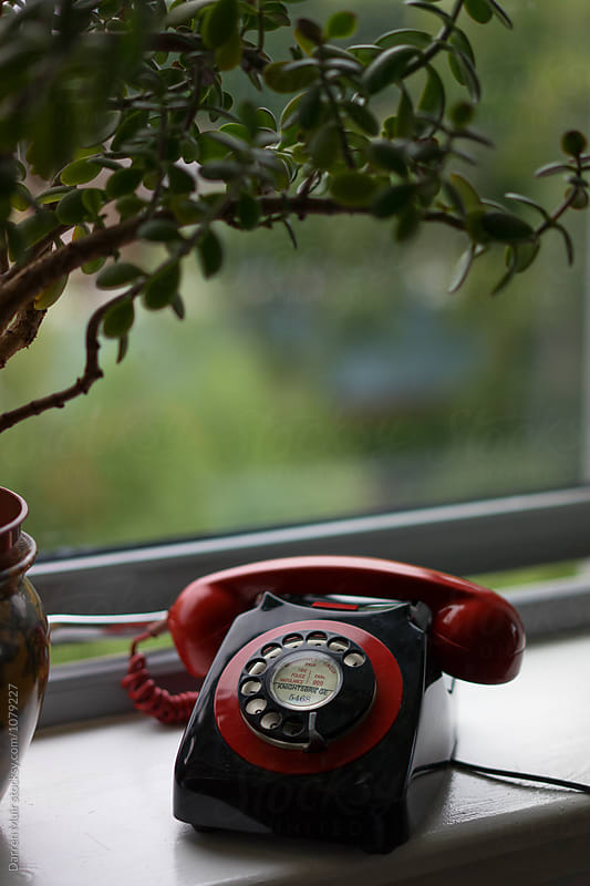 Vintage telephone. by Darren Muir for Stocksy United