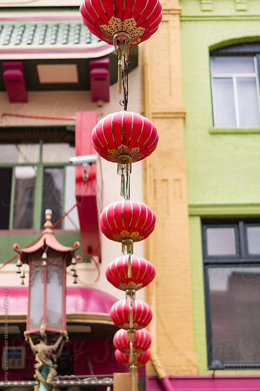 San Francisco's Chinatown by Terry Schmidbauer for Stocksy United
