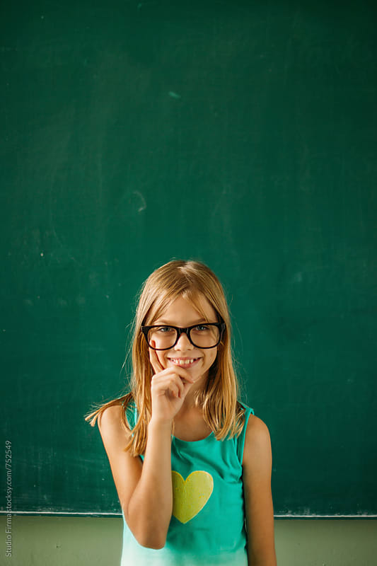 Back to School. Portrait of a Child by Studio Firma for Stocksy United