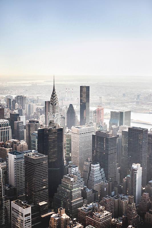 New York  by Sophia van den Hoek for Stocksy United