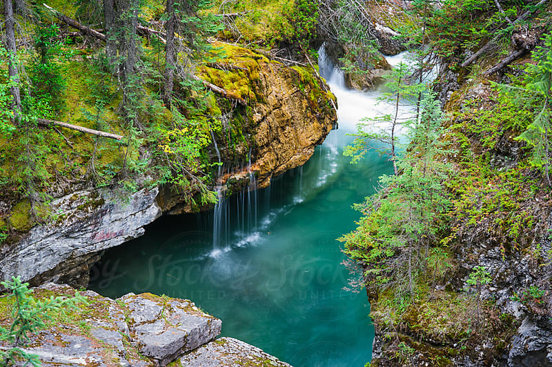 Maligne Canyon by Peter Wey for Stocksy United