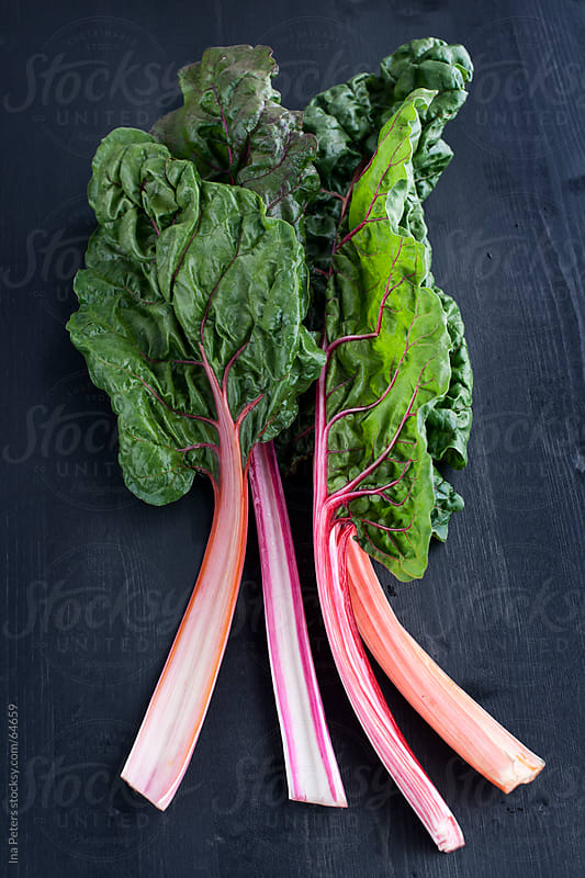 Food: Organic Swiss Chard by Ina Peters for Stocksy United