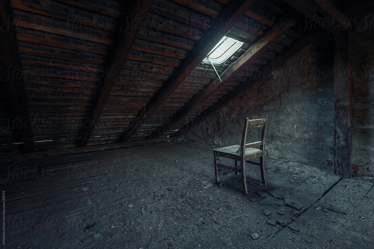 Chair In Abandoned Room | Stocksy United