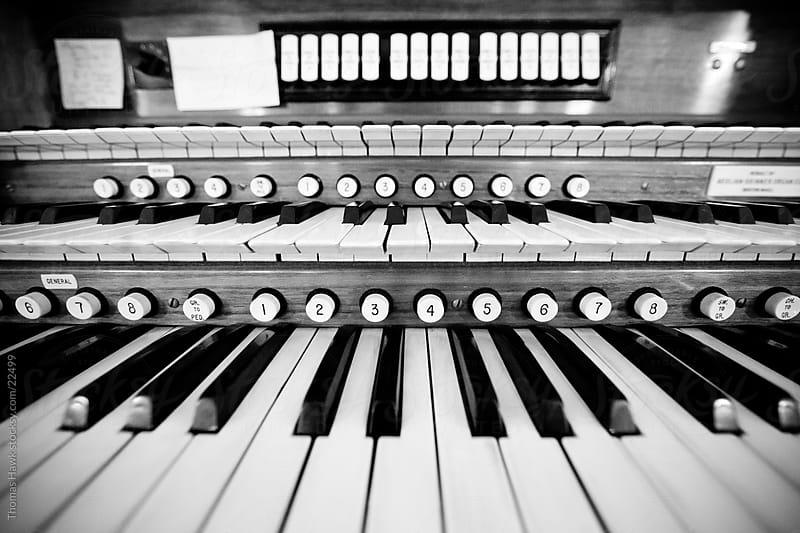 organ by Thomas Hawk for Stocksy United
