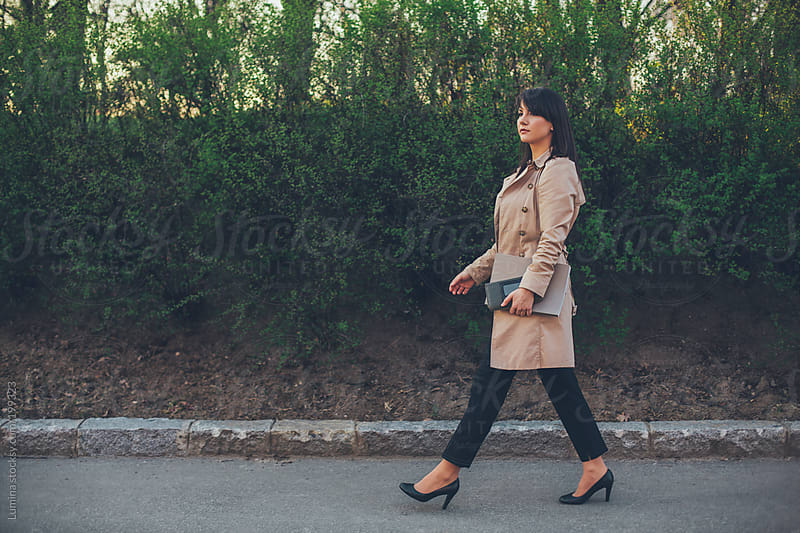 Businesswoman Going to Work by Lumina for Stocksy United