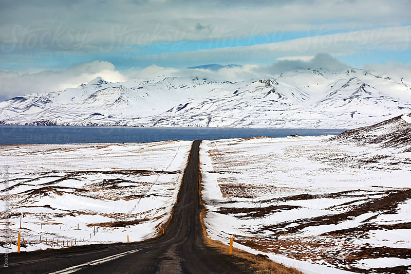 Winter road trip inspiration by Daxiao Productions for Stocksy United