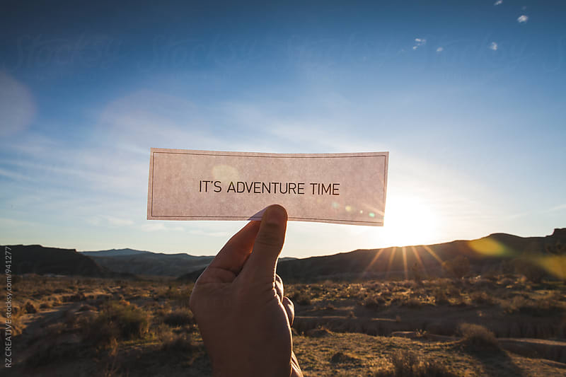 It's adventure time. by Robert Zaleski for Stocksy United