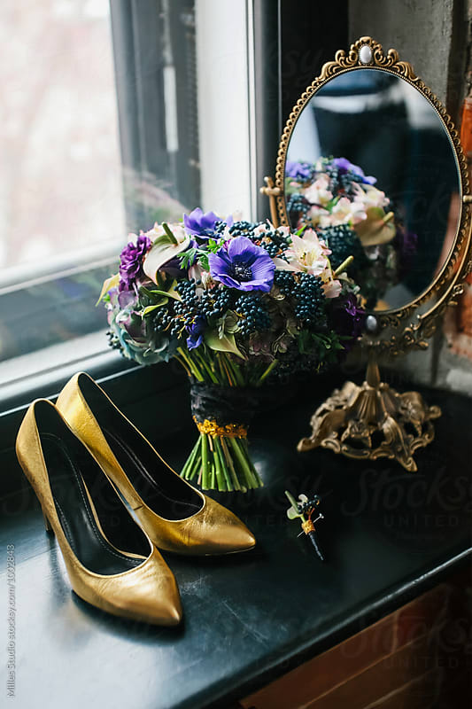Wedding shoes by Milles Studio for Stocksy United
