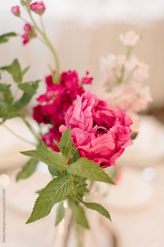 Wedding Flowers by Sidney Morgan for Stocksy United