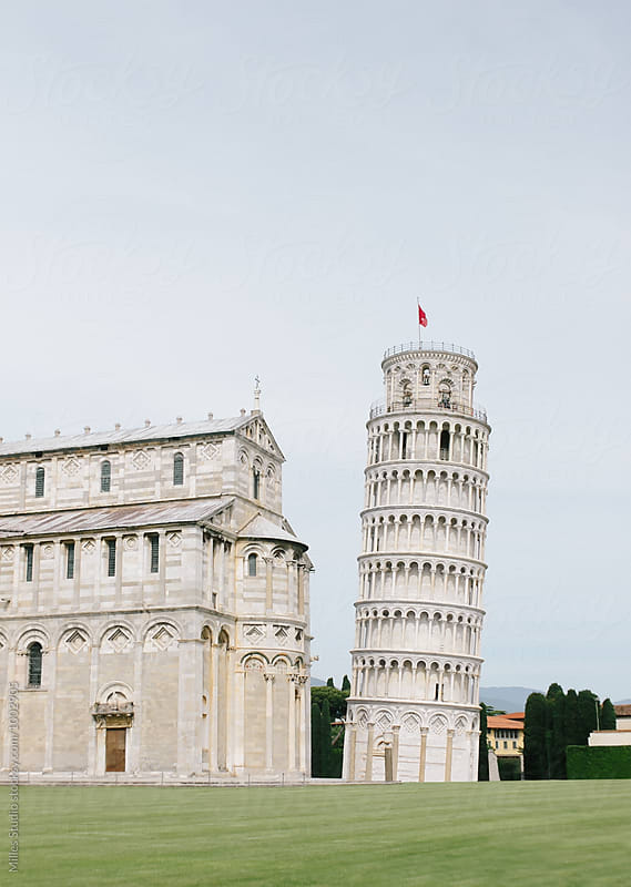 The Leaning Tower by Milles Studio for Stocksy United