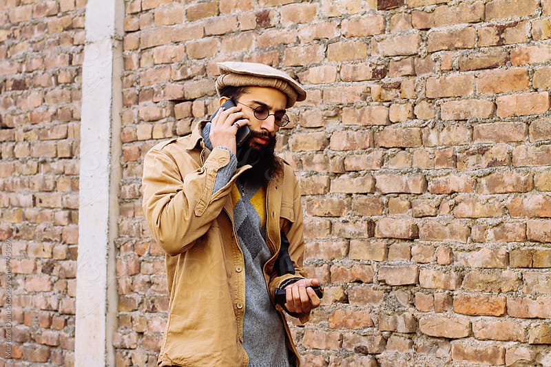 A portrait of a Pathan by Murtaza Daud for Stocksy United