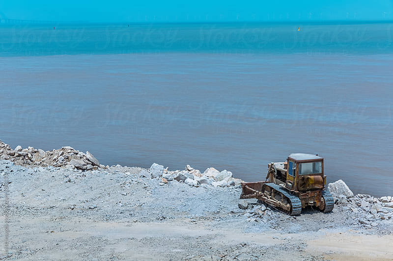 bulldozer by unite images for Stocksy United