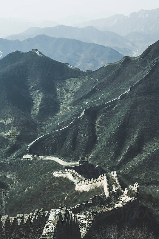 The Great Wall of China by Luke Gram for Stocksy United
