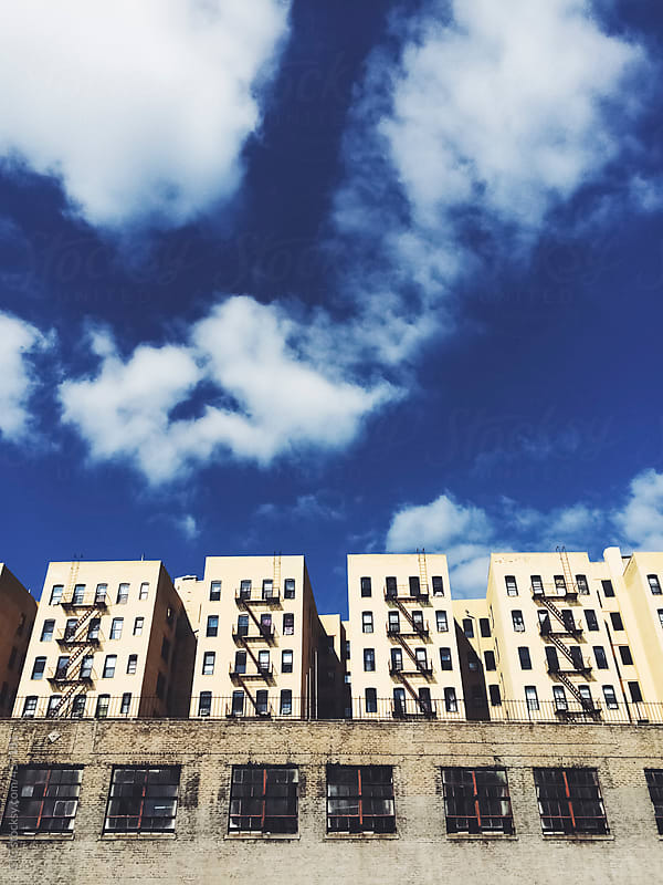 Buildings in Harlem - New York City by GIC for Stocksy United