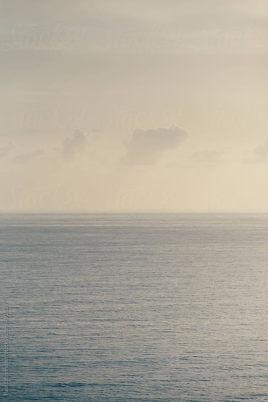 Seascape at dawn by Paul Edmondson for Stocksy United