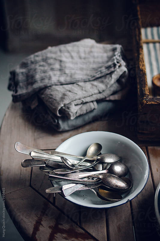 Vintage Spoons by Hung Quach for Stocksy United