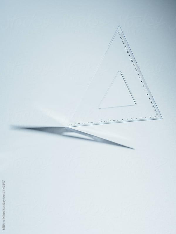 Square ruler by Milena Milani for Stocksy United