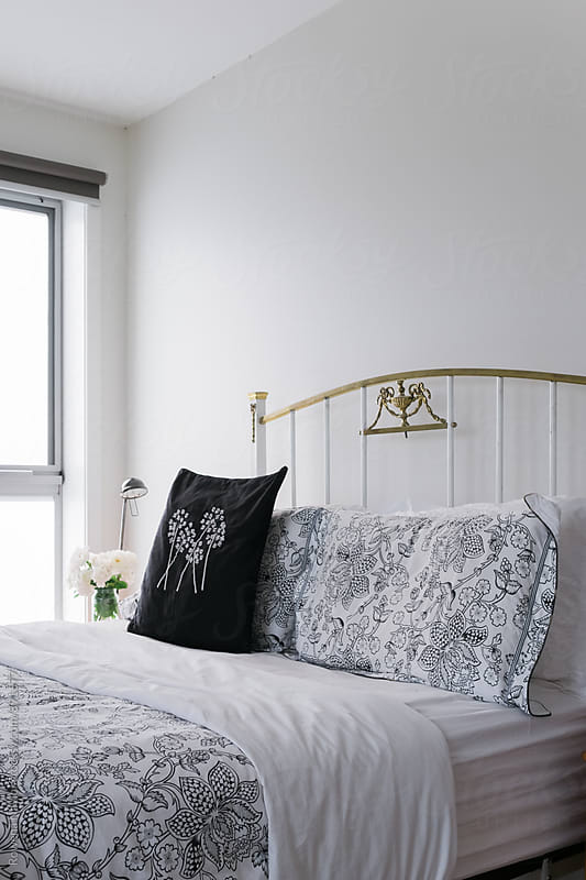 Bedroom decor by Rowena Naylor for Stocksy United