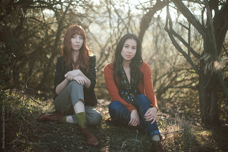 Two Women in Nature by Kevin Russ for Stocksy United