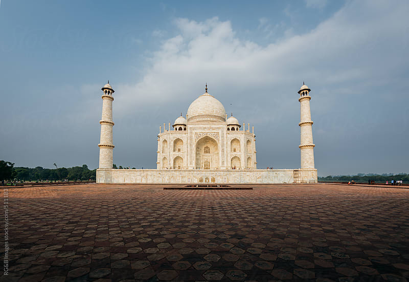 The Taj Mahal  by RG&B Images for Stocksy United