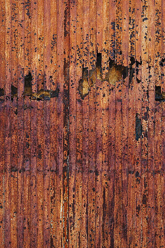 Rusty door by CACTUS Blai Baules for Stocksy United