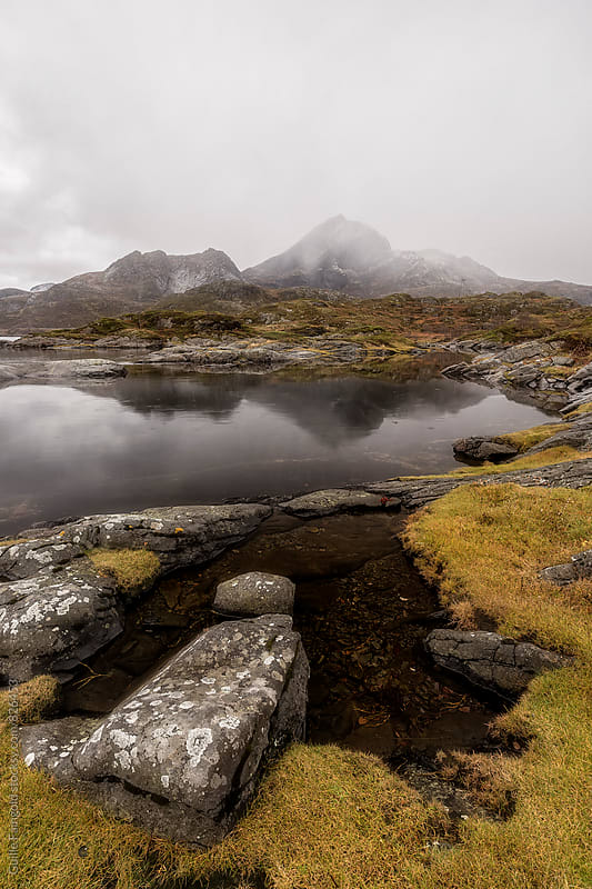 Landscape in Lofoten islands. Norway by Guille Faingold for Stocksy United