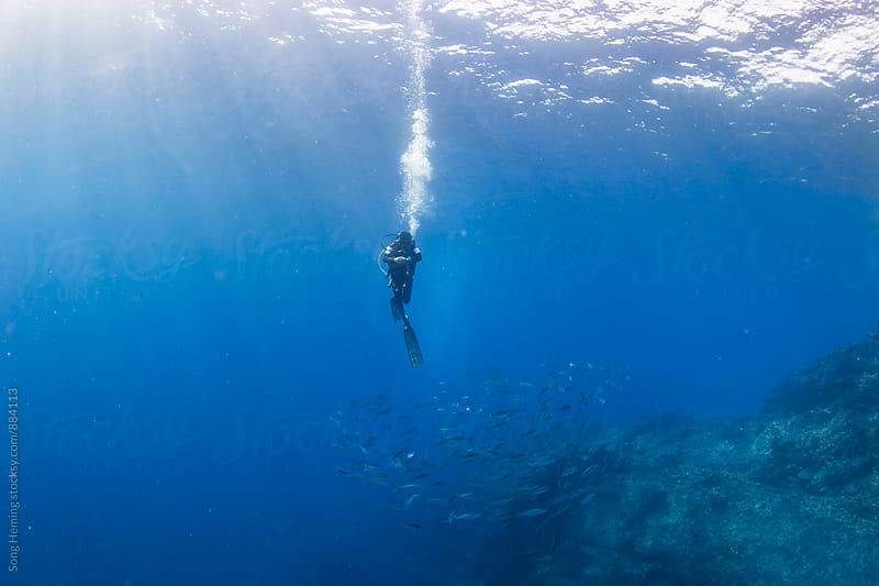 underwater by Song Heming for Stocksy United