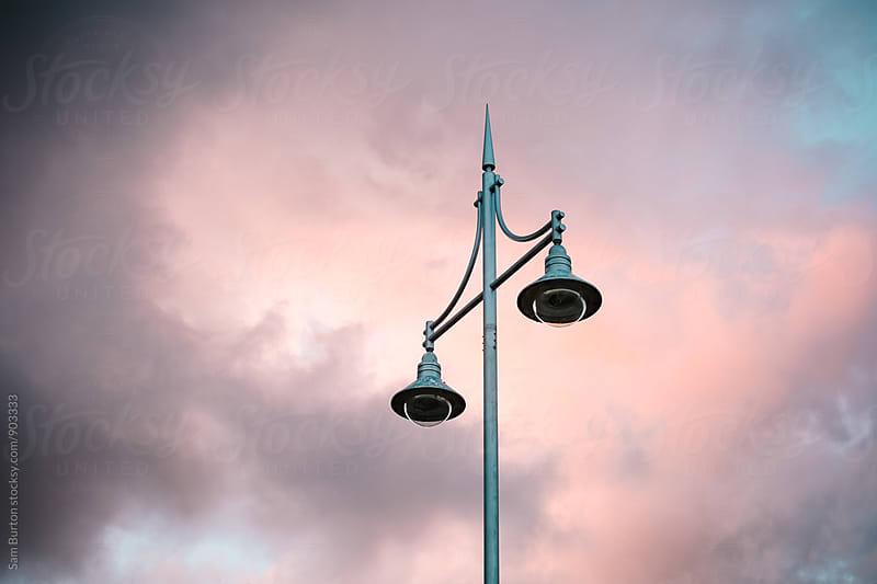 Street lamp by Sam Burton for Stocksy United