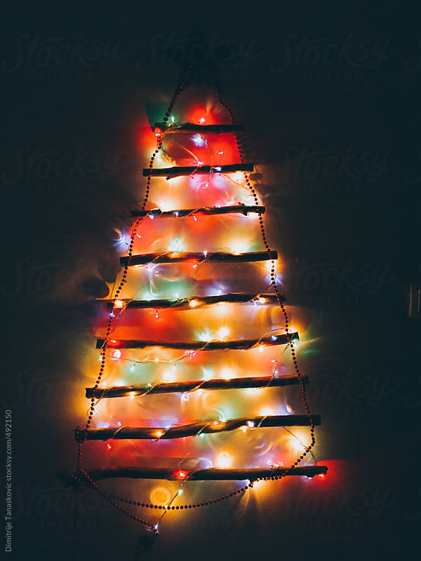 Christmas tree  by Dimitrije Tanaskovic for Stocksy United