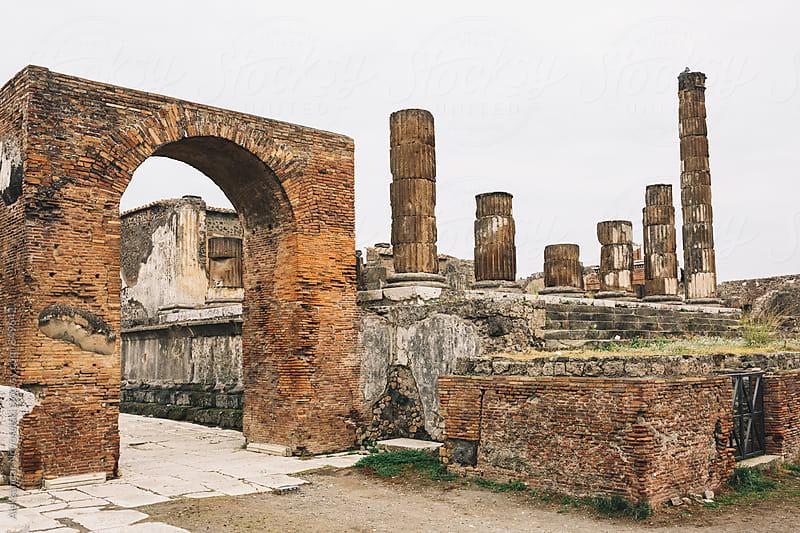 Ruins of Pompeii by Aleksandar Novoselski for Stocksy United