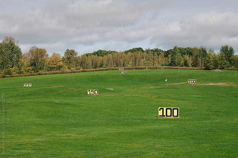 Golf Practice Range by Raymond Forbes LLC for Stocksy United
