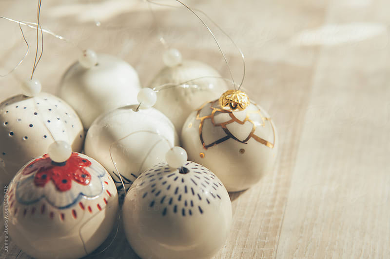 Christmas Ornaments by Lumina for Stocksy United