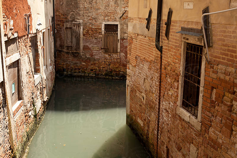 Venice canal, Italy by Jelena Jojic Tomic for Stocksy United