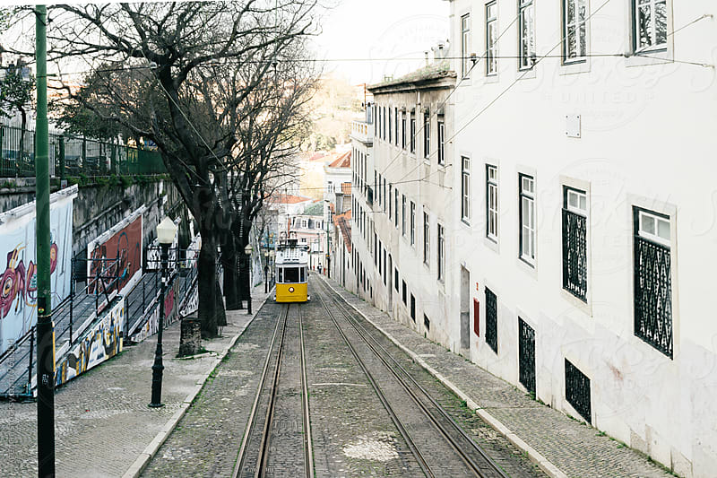 Lisbon Tram by Agencia for Stocksy United