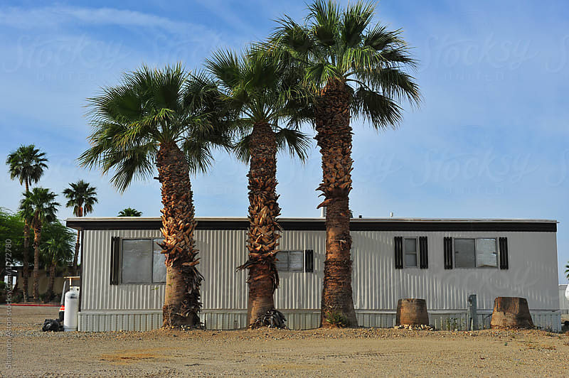 Mobile Home, Salton Sea, CA by Shannon Aston for Stocksy United