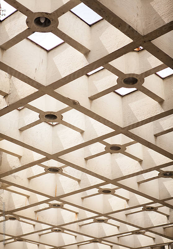 Beautiful building ceiling.  by Mosuno for Stocksy United
