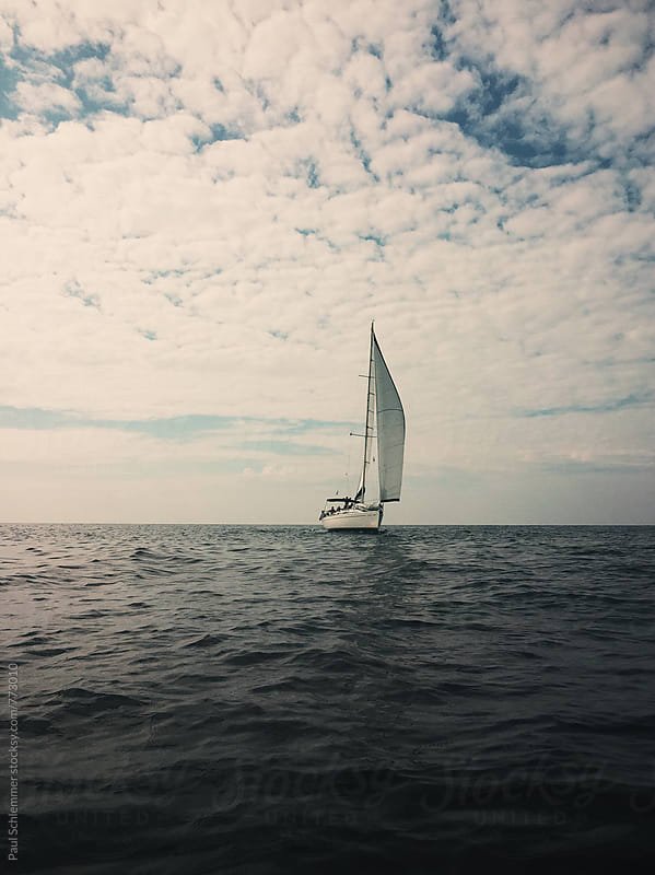 yacht by Paul Schlemmer for Stocksy United