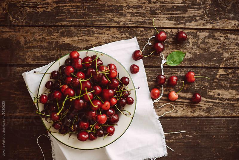 Cherries by Jovana Vukotic for Stocksy United