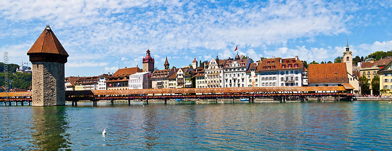 Luzern Panorama by Victor Torres for Stocksy United