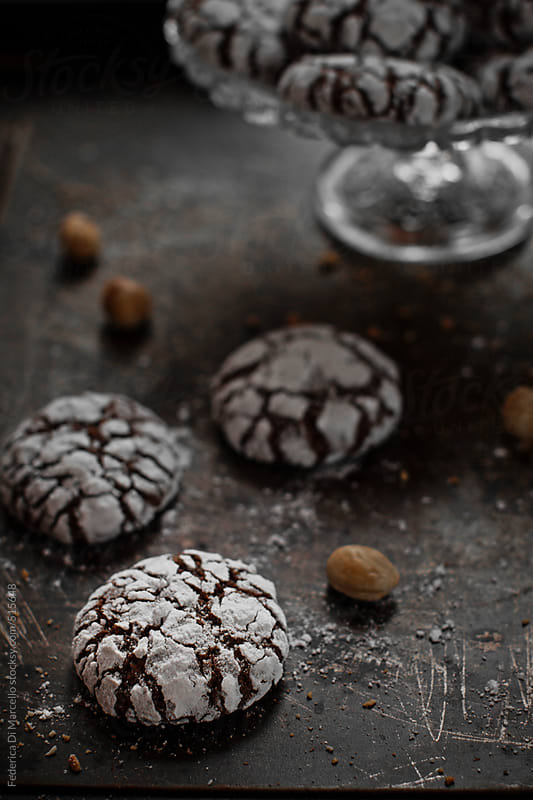 Nutcrackle cookies by Federica Di Marcello for Stocksy United