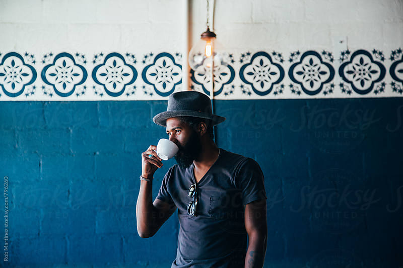 Trendy Black Dude by Rob Martinez for Stocksy United