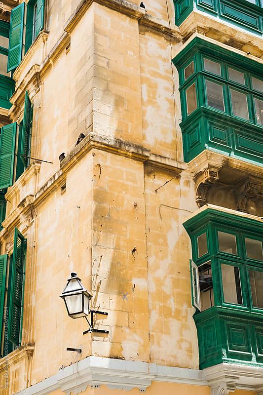 Maltese Building by Sam Burton for Stocksy United