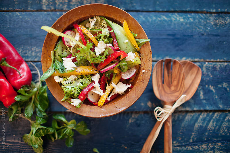 Salad by Ani Dimi for Stocksy United