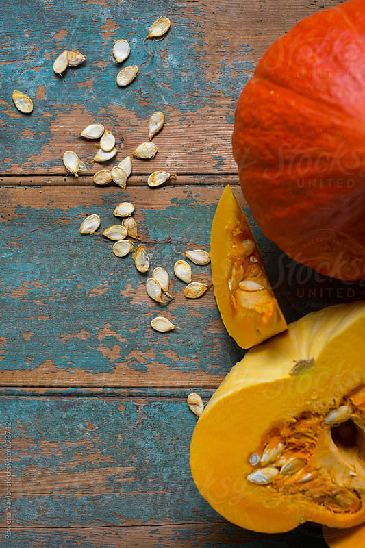 Organic Pumpkins and Seed Saving by Rowena Naylor for Stocksy United