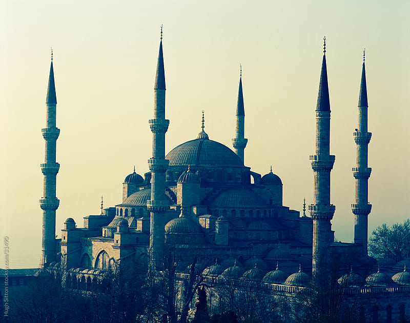 Minarets of the Blue Mosque. Istanbul. Turkey. by Hugh Sitton for Stocksy United