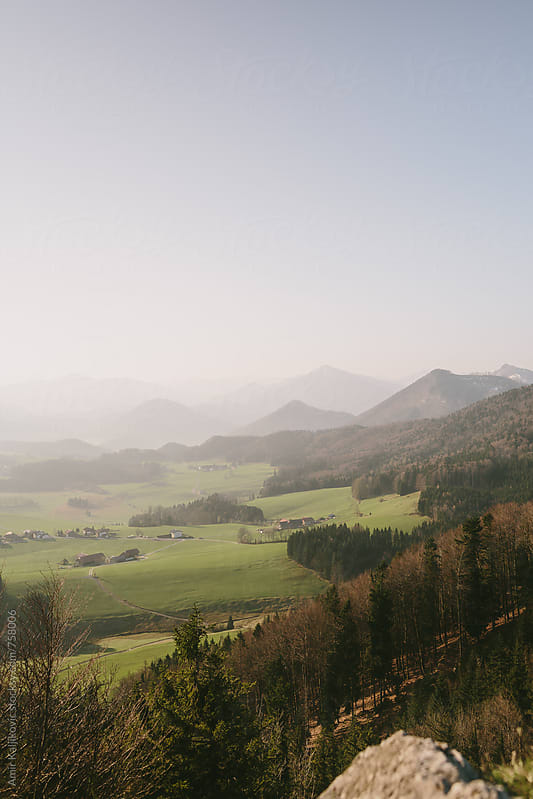 Landscape in Austria by Amir Kaljikovic for Stocksy United